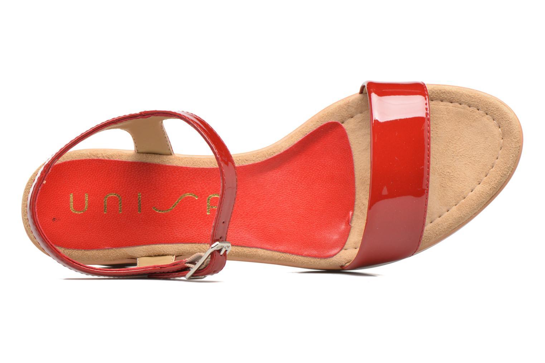 Sandales et nu-pieds Unisa Irita 3 Rouge vue gauche