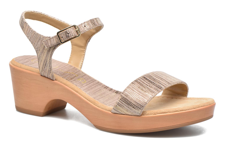 3f6df5c145f Unisa Irita 3 (Argent) - Sandales et nu-pieds chez Sarenza (286329)