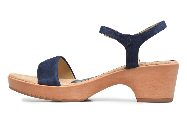 Sandales et nu-pieds Unisa Irita 2 Bleu vue face