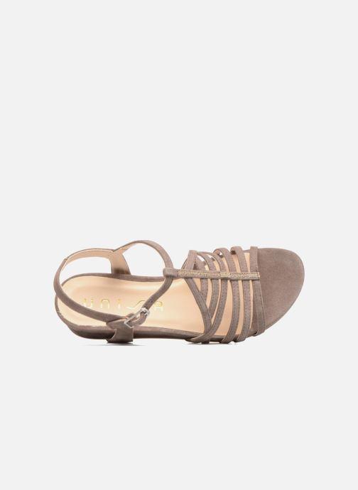 6aaa4572c07e Unisa Betis (Beige) - Sandales et nu-pieds chez Sarenza (286340)