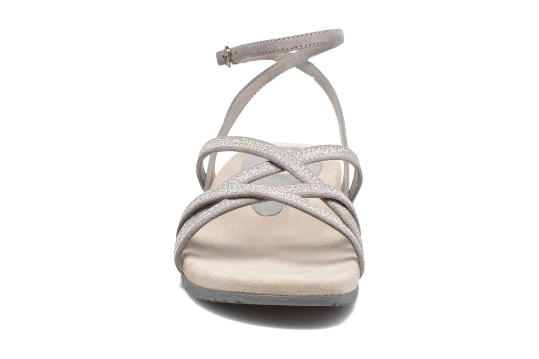 Sandales et nu-pieds Unisa Cabila Gris vue portées chaussures