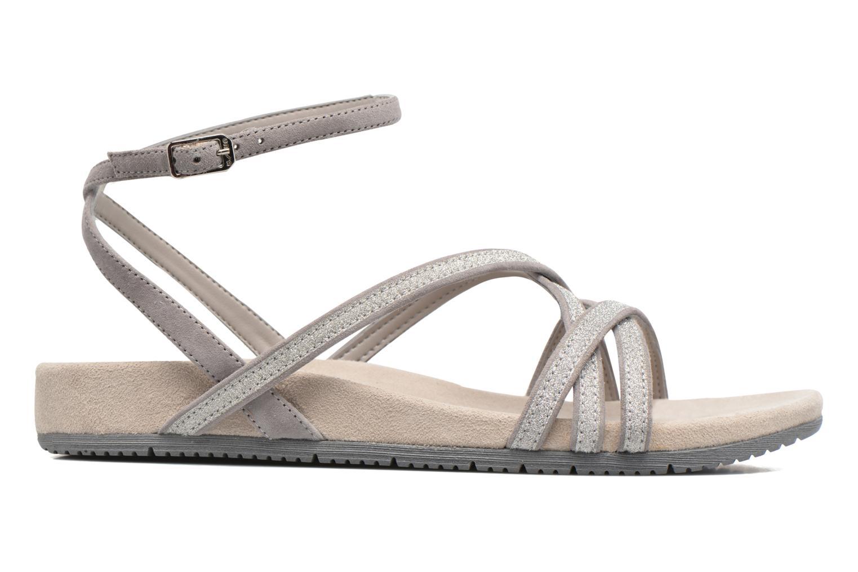 Sandales et nu-pieds Unisa Cabila Gris vue derrière