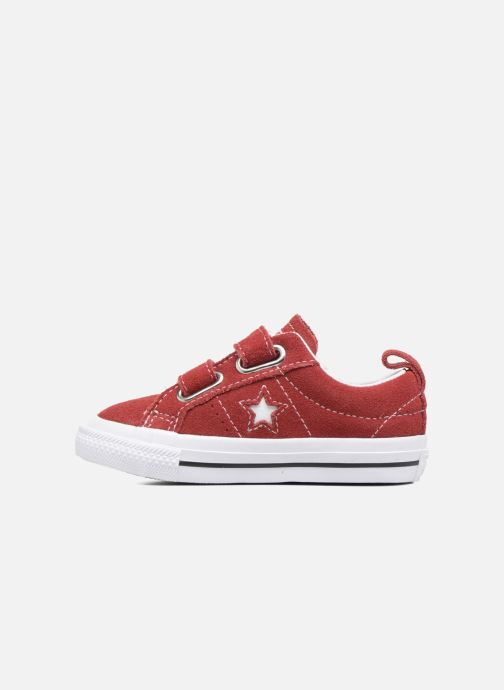 Sneakers Converse Converse One Star 2V Ox Rood voorkant