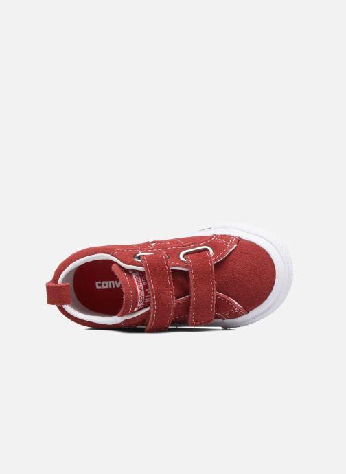 Sneakers Converse Converse One Star 2V Ox Röd bild från baksidan
