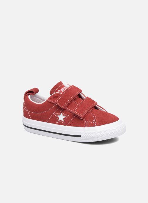 Sneakers Converse Converse One Star 2V Ox Röd detaljerad bild på paret