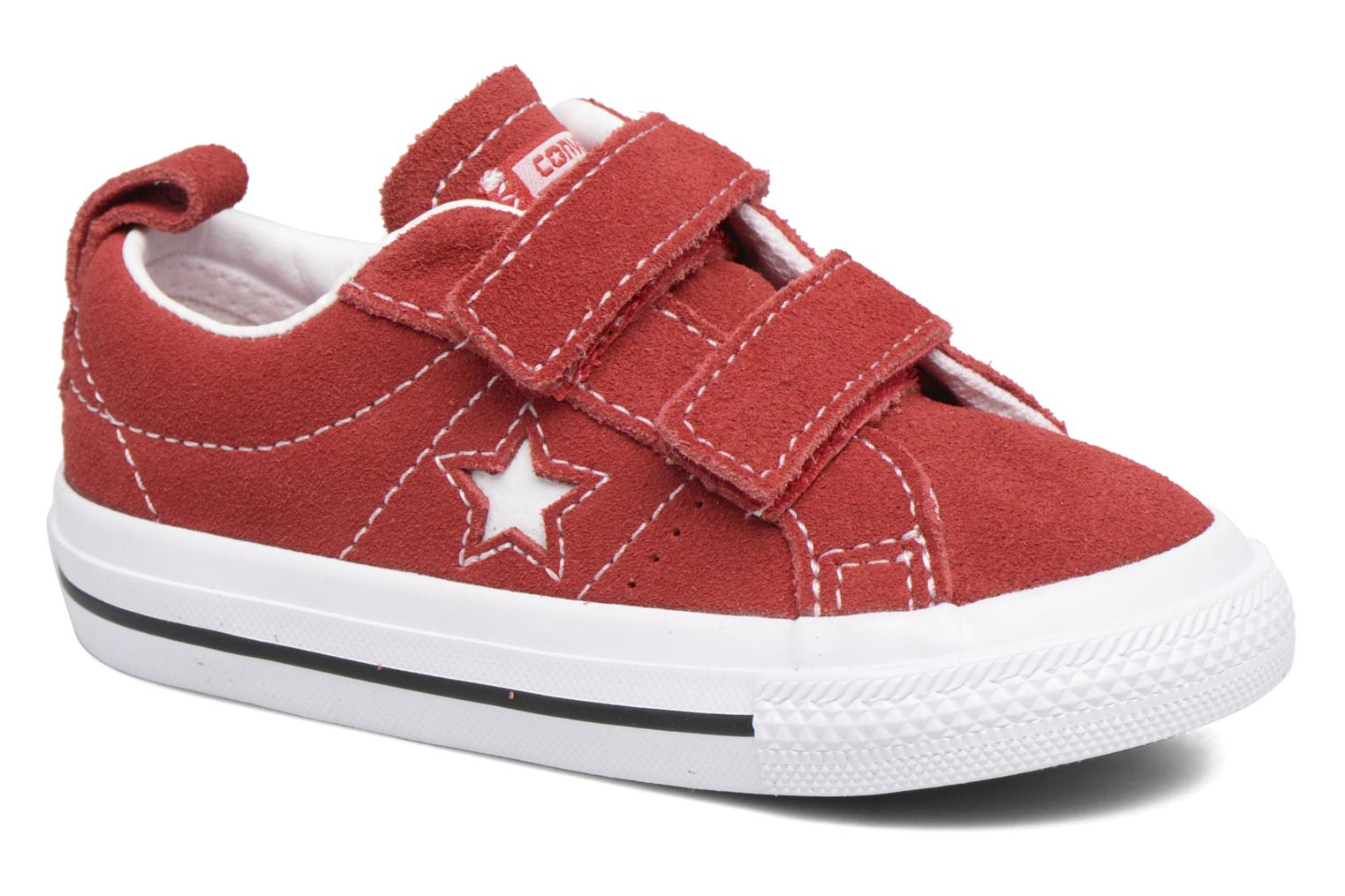 Trainers Converse Converse One Star 2V Ox Red detailed view/ Pair view