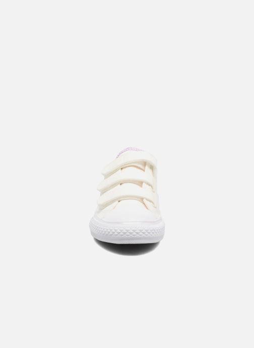 Baskets Converse Chuck Taylor All Star 3V Ox Blanc vue portées chaussures