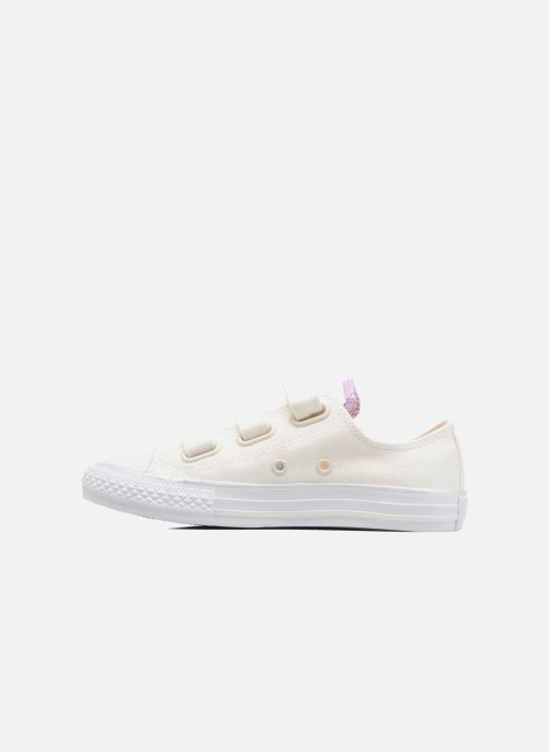Sneakers Converse Chuck Taylor All Star 3V Ox Wit voorkant