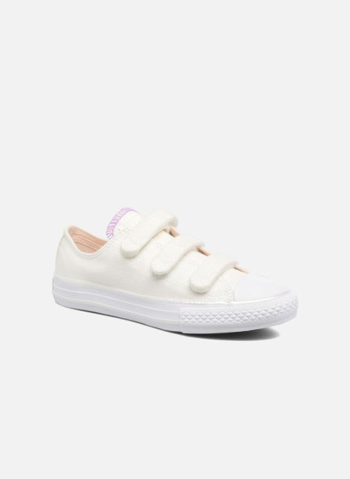 4216f6df9852a2 Trainers Converse Chuck Taylor All Star 3V Ox White detailed view  Pair view