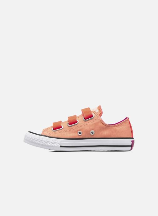Sneakers Converse Chuck Taylor All Star 3V Ox Oranje voorkant