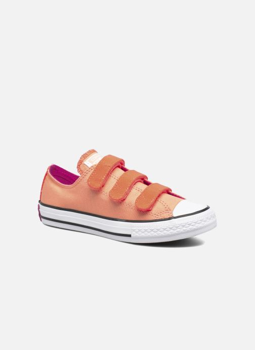 6930be3d84a70e Trainers Converse Chuck Taylor All Star 3V Ox Orange detailed view  Pair  view