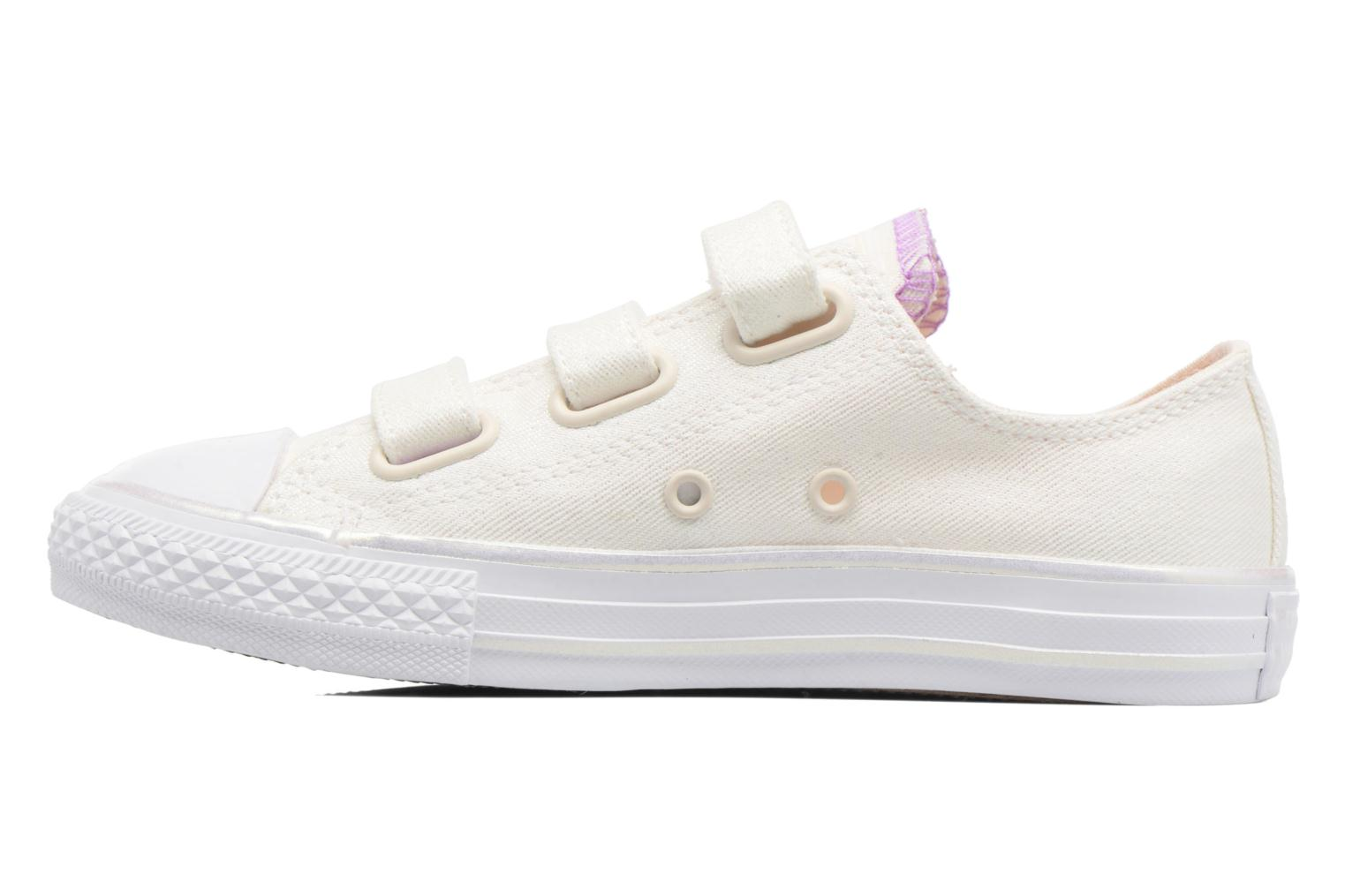 Trainers Converse Chuck Taylor All Star 3V Ox White front view