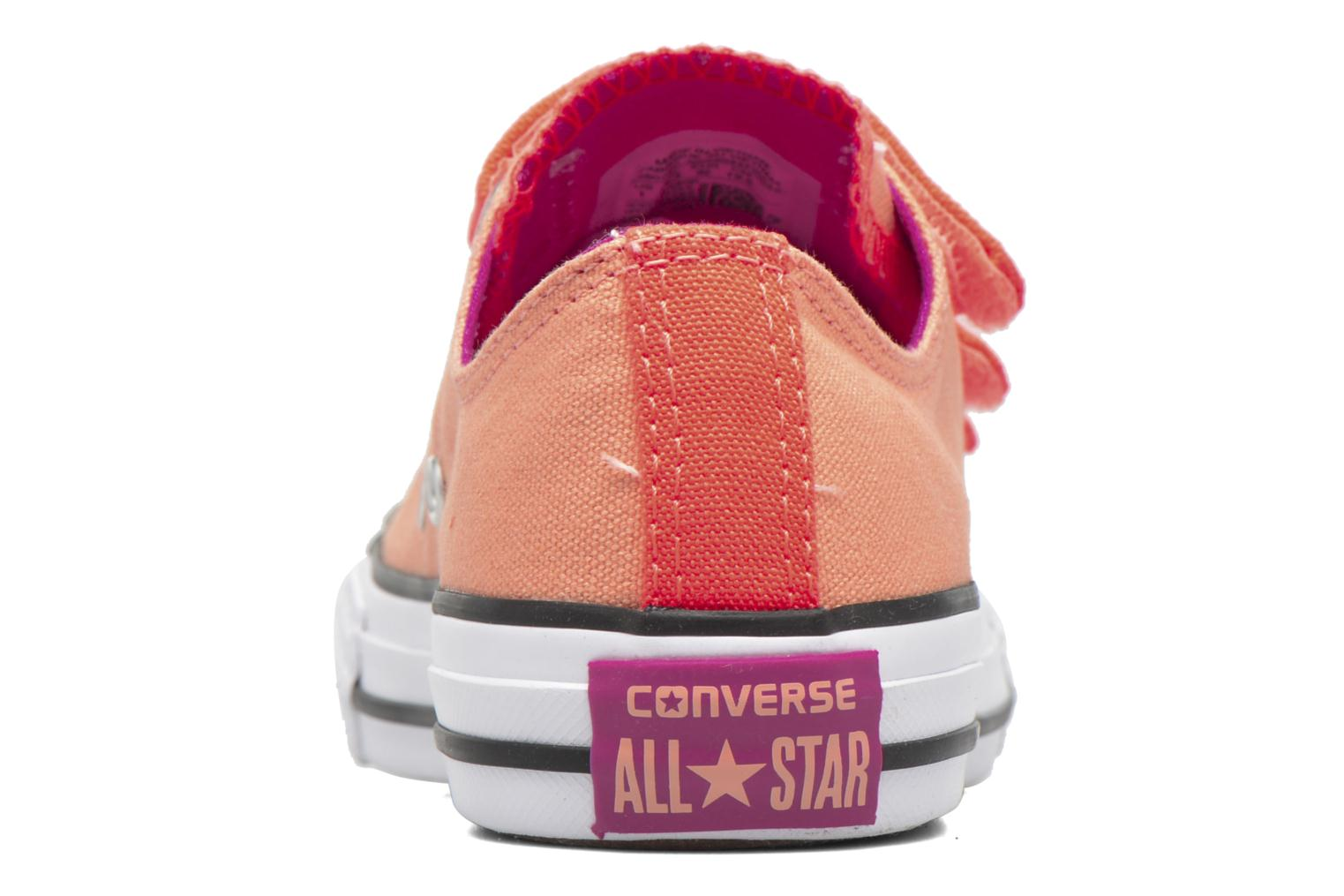 Trainers Converse Chuck Taylor All Star 3V Ox Orange view from the right
