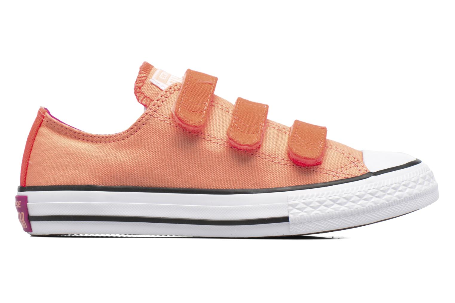 Sneakers Converse Chuck Taylor All Star 3V Ox Oranje achterkant