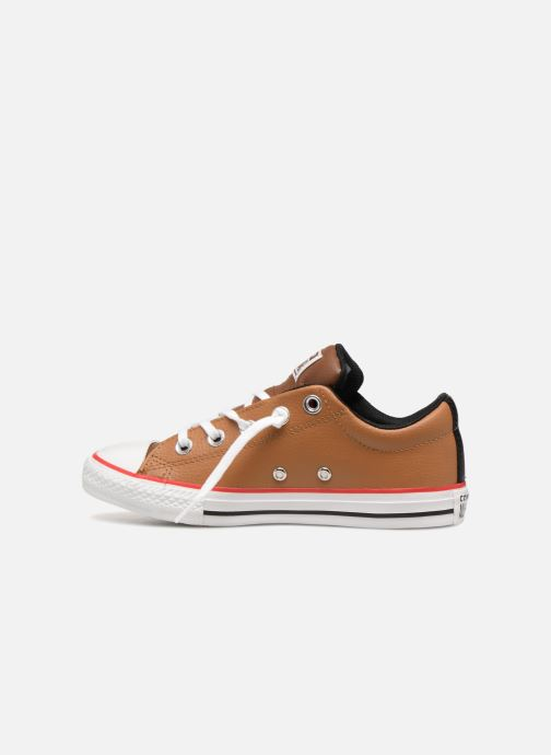 Baskets Converse Chuck Taylor All Star Street Slip Marron vue face