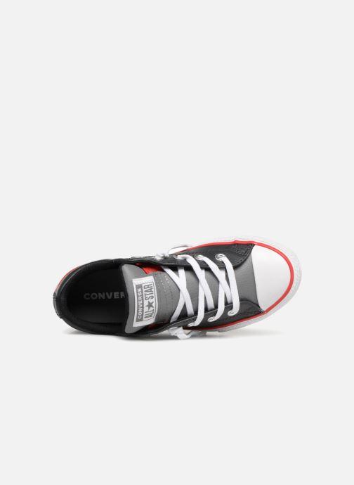 Baskets Converse Chuck Taylor All Star Street Slip Noir vue gauche
