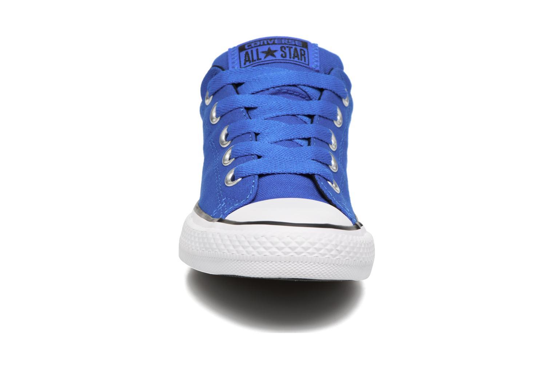 Sneaker Converse Chuck Taylor All Star Street Slip blau schuhe getragen