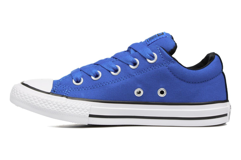 Deportivas Converse Chuck Taylor All Star Street Slip Azul vista de frente