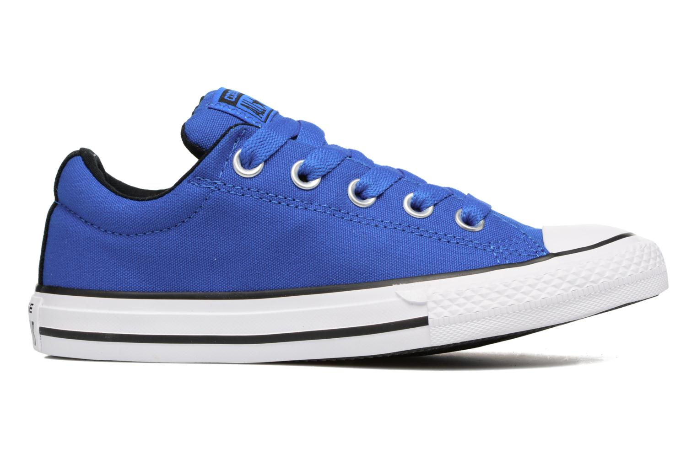 Sneaker Converse Chuck Taylor All Star Street Slip blau ansicht von hinten