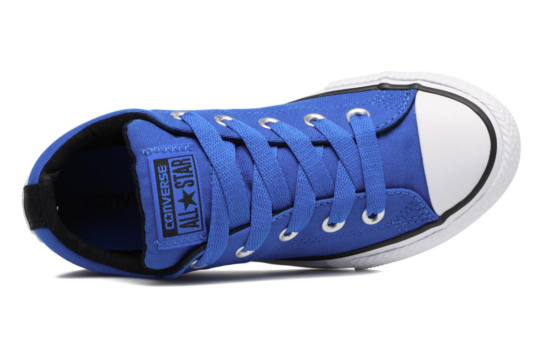 Sneaker Converse Chuck Taylor All Star Street Slip blau ansicht von links