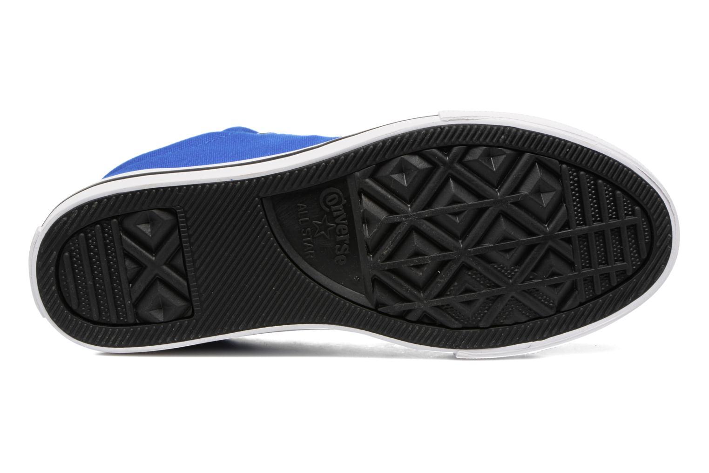 Sneaker Converse Chuck Taylor All Star Street Slip blau ansicht von oben