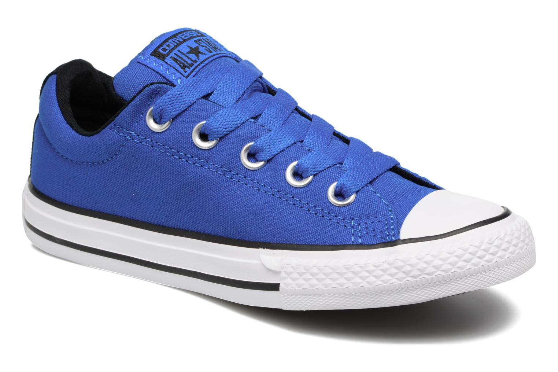 Deportivas Converse Chuck Taylor All Star Street Slip Azul vista de detalle / par