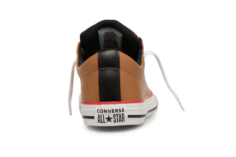 Baskets Converse Chuck Taylor All Star Street Slip Marron vue droite