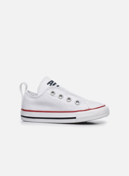 Sneakers Converse Chuck Taylor All Star Simple Slip Wit achterkant