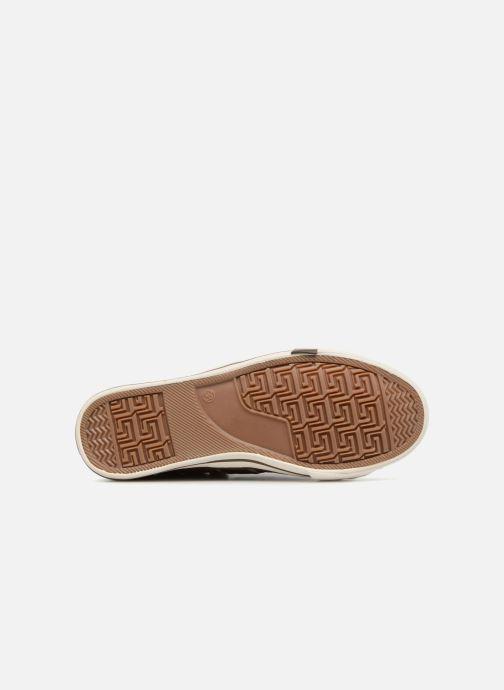Baskets Mustang shoes Alwin Marron vue haut