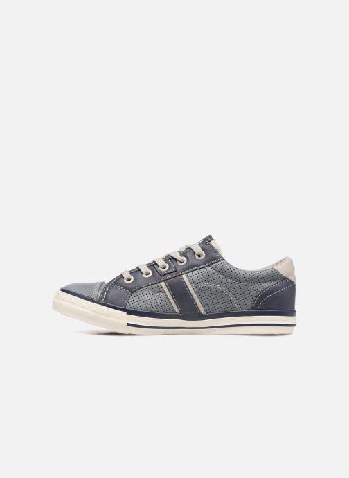 Sneakers Mustang shoes Alwin Blauw voorkant