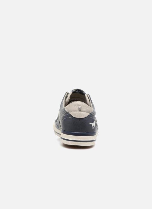 Baskets Mustang shoes Alwin Bleu vue droite