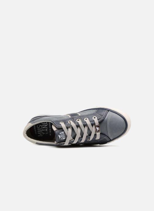 Baskets Mustang shoes Alwin Bleu vue gauche