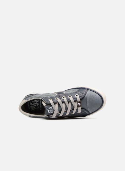 Sneakers Mustang shoes Alwin Azzurro immagine sinistra