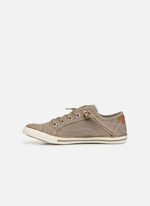Baskets Mustang shoes Hartwig Beige vue face