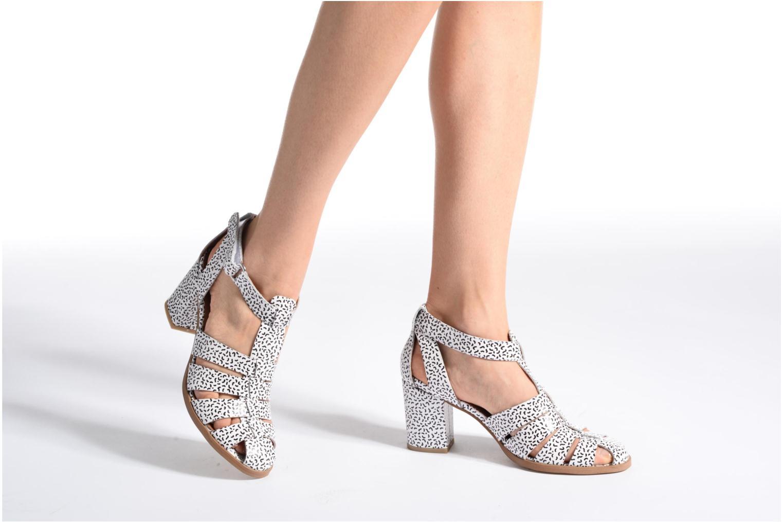 Sandales et nu-pieds Made by SARENZA Pastel Belle #2 Blanc vue bas / vue portée sac