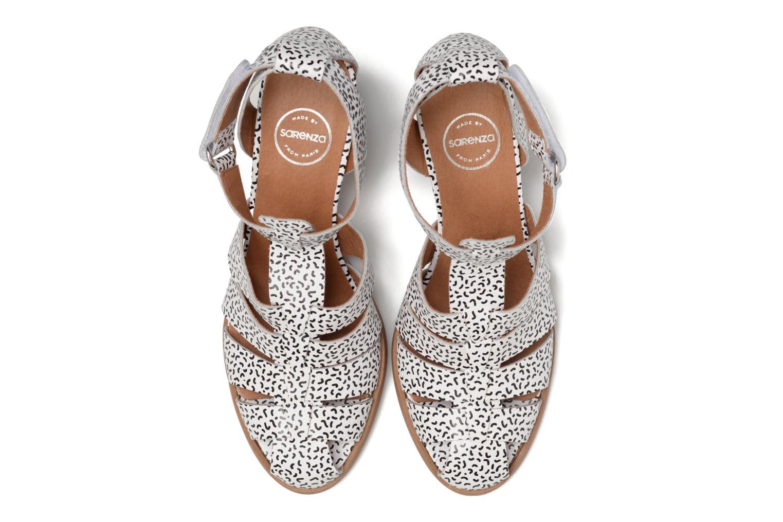 Sandales et nu-pieds Made by SARENZA Pastel Belle #2 Blanc vue portées chaussures