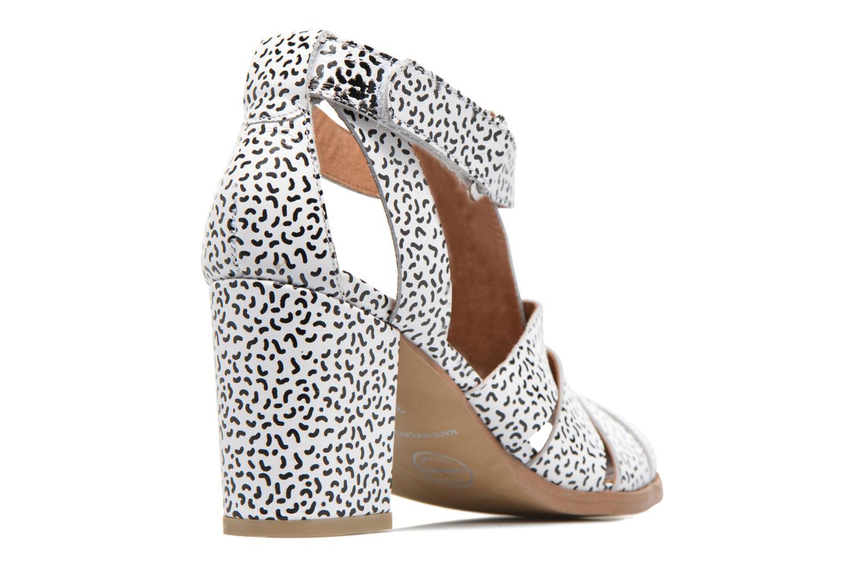 Sandales et nu-pieds Made by SARENZA Pastel Belle #2 Blanc vue face