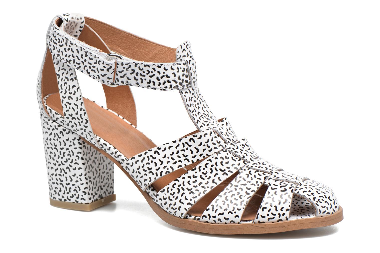 Sandales et nu-pieds Made by SARENZA Pastel Belle #2 Blanc vue droite