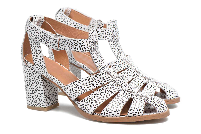 Sandales et nu-pieds Made by SARENZA Pastel Belle #2 Blanc vue derrière