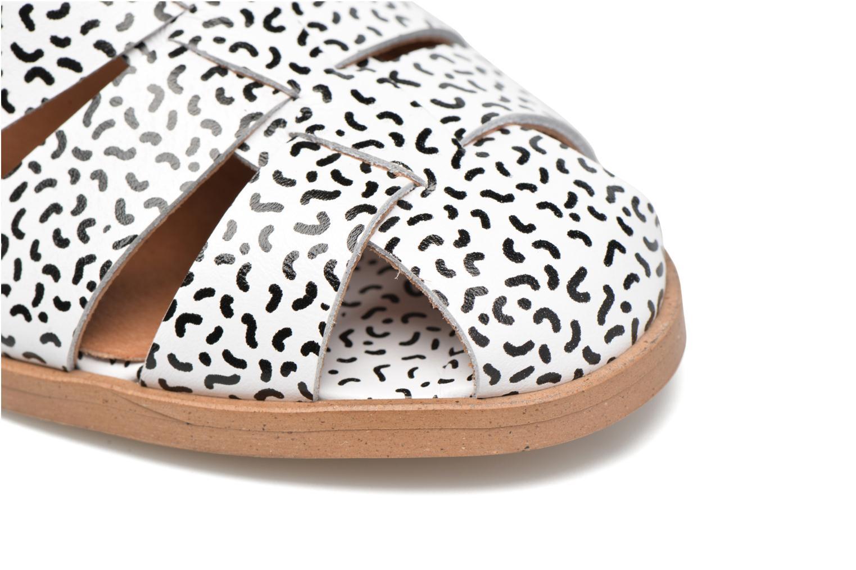 Sandales et nu-pieds Made by SARENZA Pastel Belle #2 Blanc vue gauche