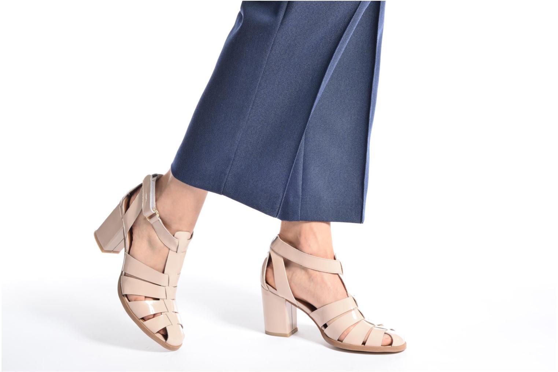 Sandalen Made by SARENZA Pastel Belle #2 beige ansicht von unten / tasche getragen