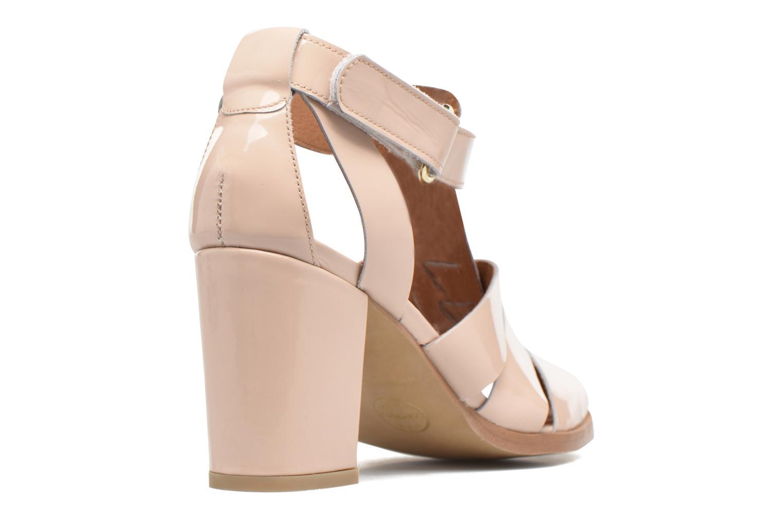 Sandals Made by SARENZA Pastel Belle #2 Beige front view