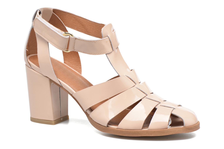 Sandalen Made by SARENZA Pastel Belle #2 beige ansicht von rechts