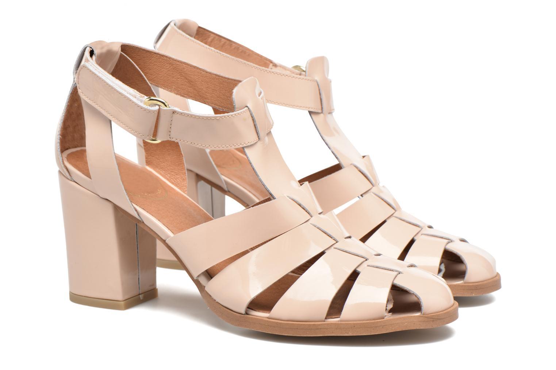 Sandalen Made by SARENZA Pastel Belle #2 beige ansicht von hinten
