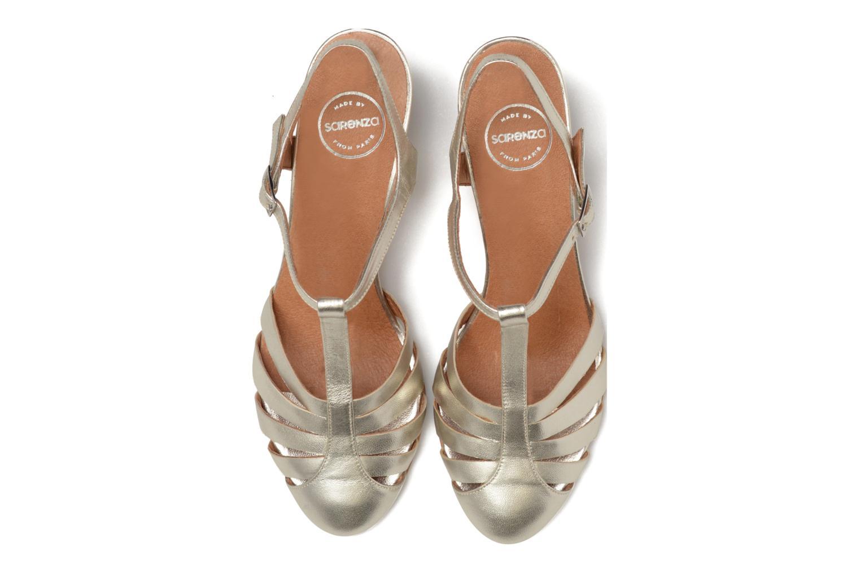 Sandali e scarpe aperte Made by SARENZA Donut hut #11 Argento modello indossato