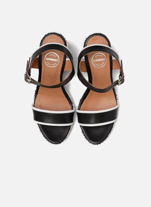 Sandales et nu-pieds Made by SARENZA Pastel Belle #10 Noir vue portées chaussures