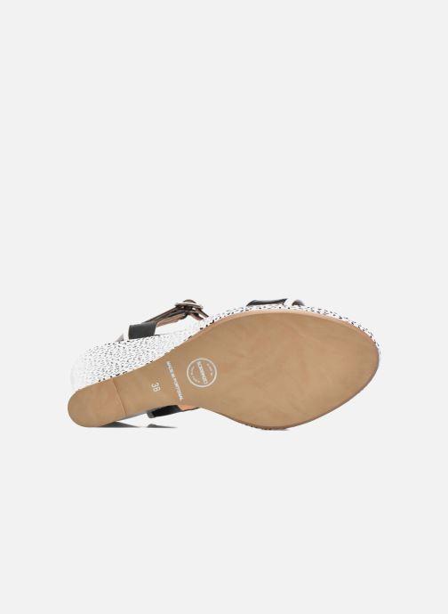 Sandales et nu-pieds Made by SARENZA Pastel Belle #10 Noir vue haut