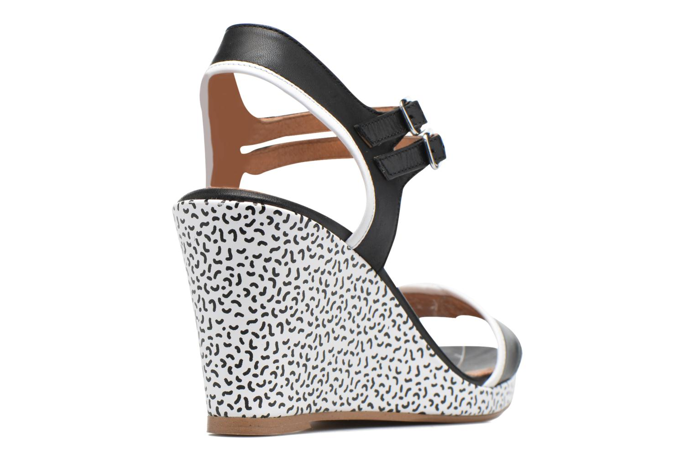 Sandalen Made by SARENZA Pastel Belle #10 Zwart voorkant