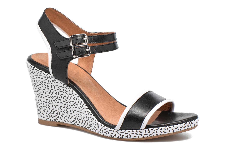 Sandalias Made by SARENZA Pastel Belle #10 Negro vista lateral derecha