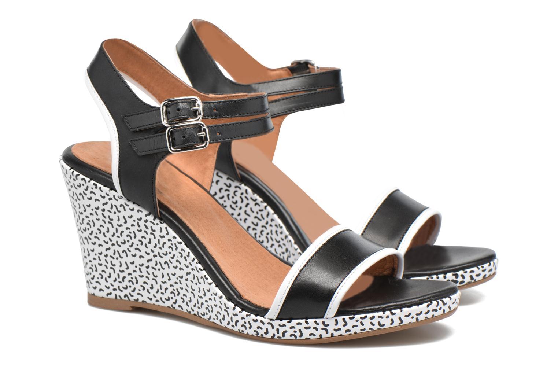 Sandalias Made by SARENZA Pastel Belle #10 Negro vistra trasera